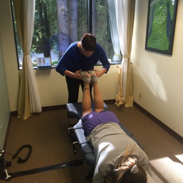 Manual chiropractic adjustment federal way
