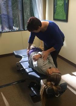 Dr Adrienne Owens Chiropractor Federal Way WA Adjustment