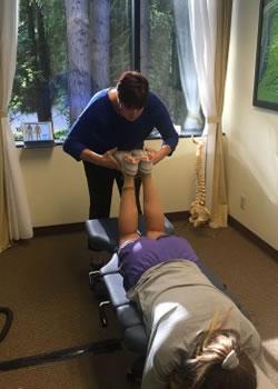 Manual chiropractic adjustment federal way